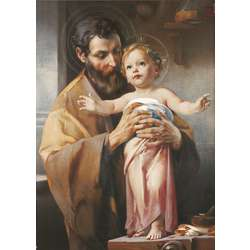 San José y el Niño Jesús (G)