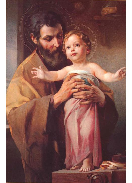 Saint Joseph end The Child Jesus (M, GL)