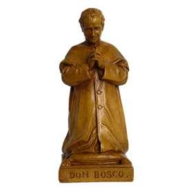 Saint Jean Bosco à genoux, 16 cm (Vue de face)