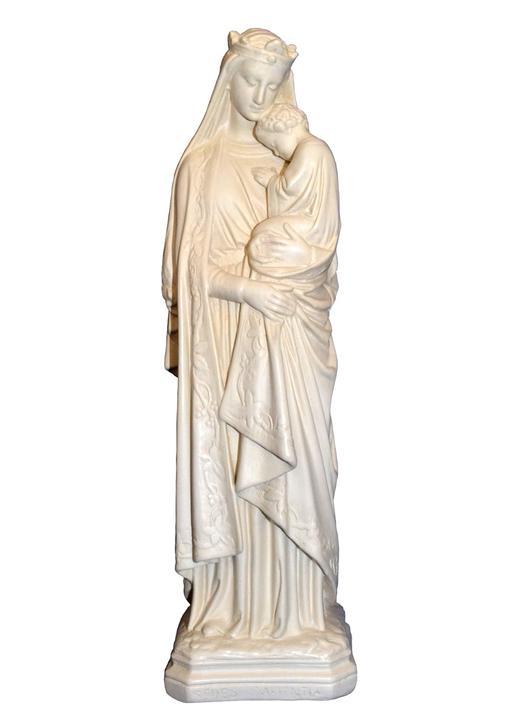 Statue de Notre-Dame de la Sagesse, 30 cm (Vue de face)