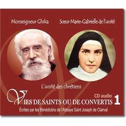 Mgr Ghika y Sor María Gabriela de la Unidad