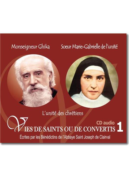 Monseigneur Ghika et Soeur Marie-Gabrielle de l'unité
