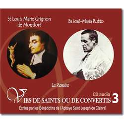 Saint Louis-Marie Grignion de Montfort and Blessed José Maria Rubio