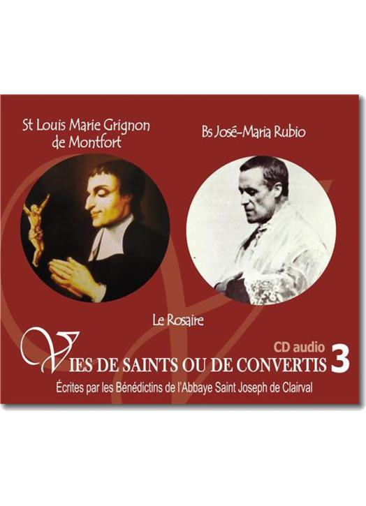 St Louis Marie Grignon de Montfort et saint José-Maria Rubio