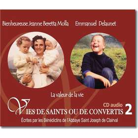 St. Gianna Beretta-Molla and Emmanuel Delaunet