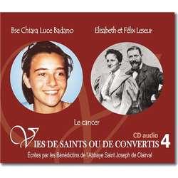 Beata Chiara Luce Badano y Isabel y Felix Leseur