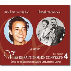 Blessed Chiara Luce Badano and Elisabeth and Felix Leseur
