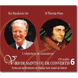 Roi Baudoin 1er et saint Thomas More