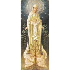 L'icône religieuse : Une Rose est éclose