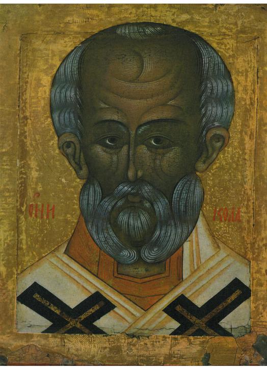 Face of Saint Nicolas