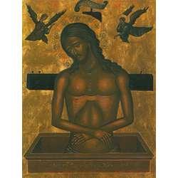 Cristo en la tumba - Italiano-bizantino (M)