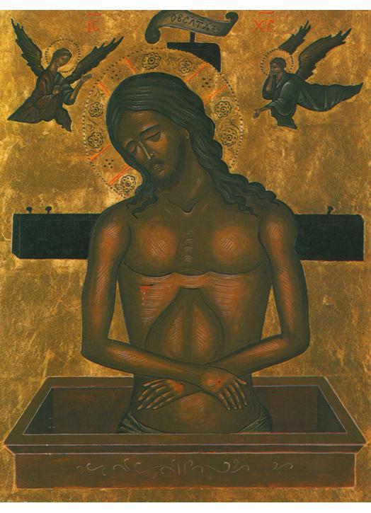 Christ in the tomb - Italian-Byzantine (M)