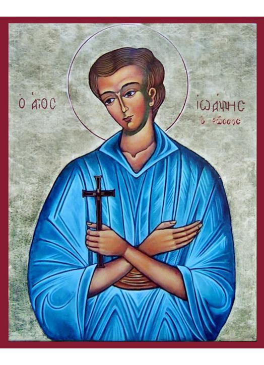 Icon of Saint John the Russian
