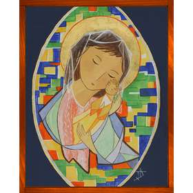 Icône de Marie, Source de toute Joie