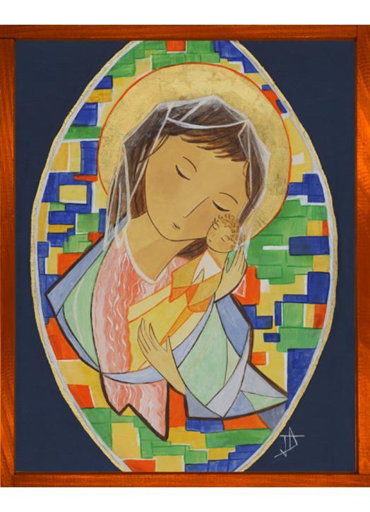 Icon of Mary, Source of any Joy