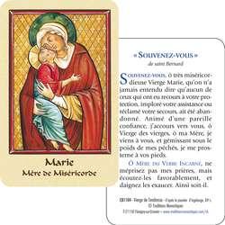 Vierge de Tendresse (recto-verso)