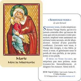 Virgen de Ternura (recto-verso)