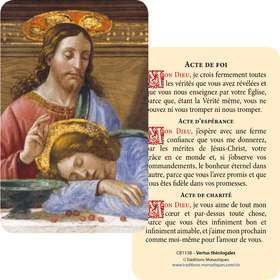 Card-prayer of Our Lady of Perpetual Help (Recto-Verso)