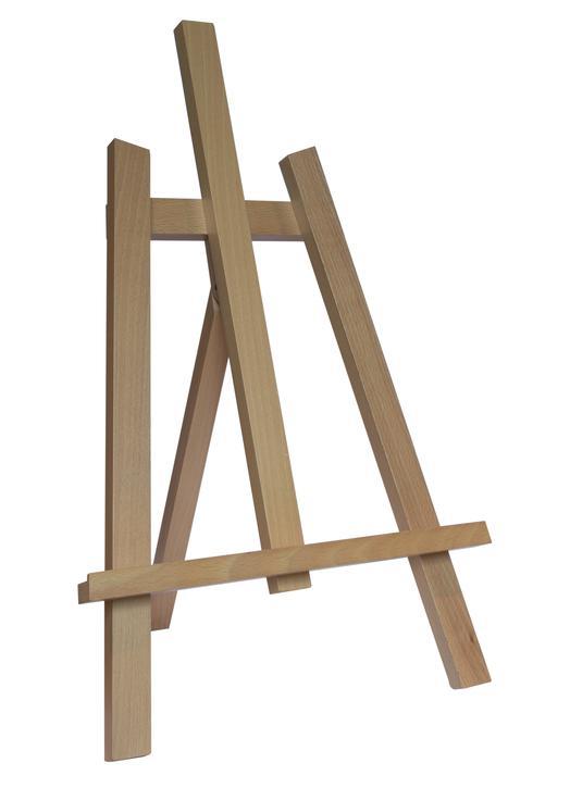 Caballete (madera) 60 cm (madera) 74 cm (Vue de biais)