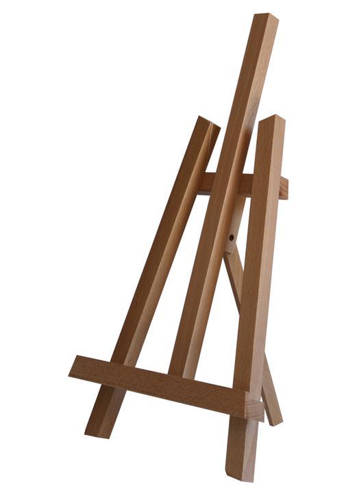 Chevalet de table 37 cm (Vue de biais)