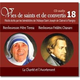 Bienheureuse Mère Teresa et Bienheureux Frédéric Ozanam