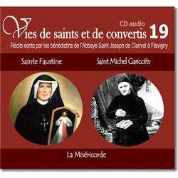 Sainte Faustine et Saint Michel Garicoïts