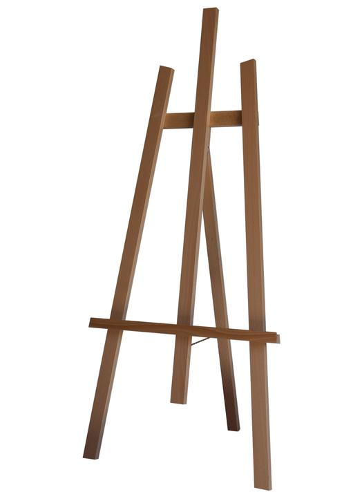 wooden easel 125 cm (Vue de biais)