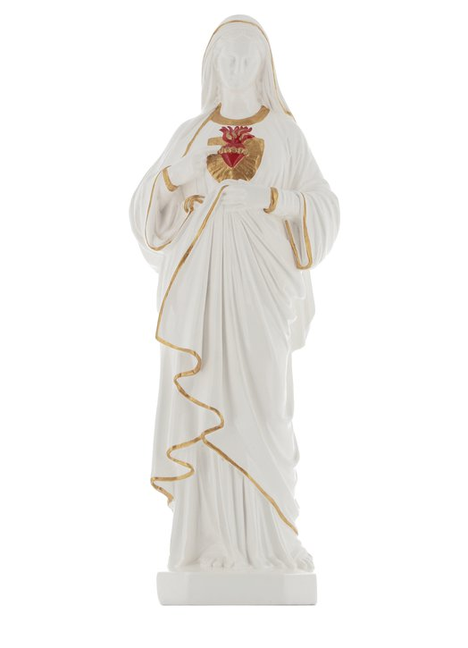 statue of the Immaculate Heart of Marie, 40 cm (Vue de face)