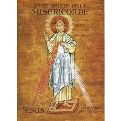 roll up de l'icône de Jésus de l'année de la Miséricorde (Image du roll-up)