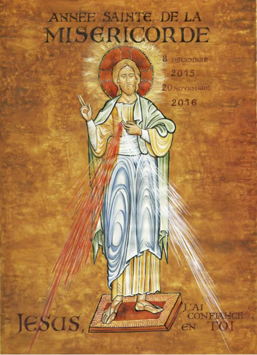 the icon of Jesus of the year of the Mercy on forex