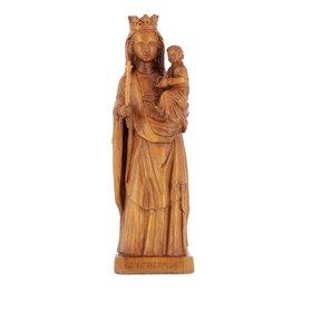 Statue de Notre Dame de Bermont, 27 cm (Vue de face)