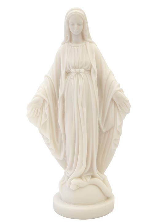 Estatua de Virgen Milagrosa, 23 cm (Vue de face)