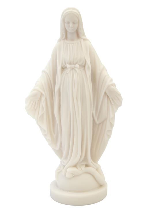 Statue of Miraculous Virgin, 23 cm (Vue de face)