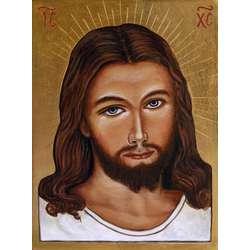 Icono de Jesús Misericordia (rostro)