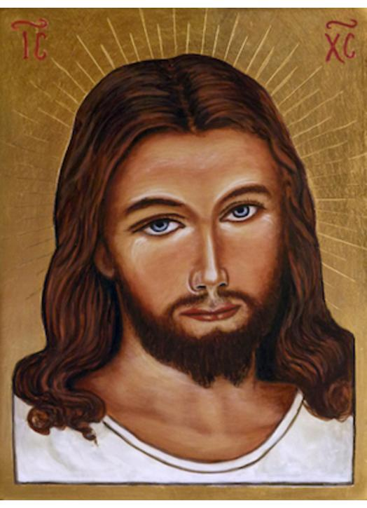 Icon of Merciful Jesus (face)
