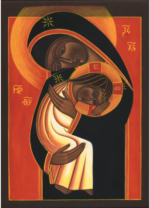 Icône de Notre-Dame de Simplicité