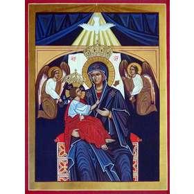 Icono de la Virgen del Amor Divino