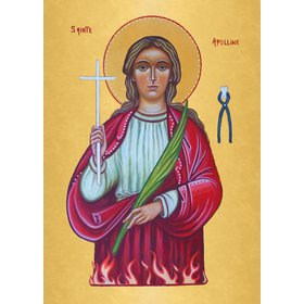 Icône de Sainte Apolline