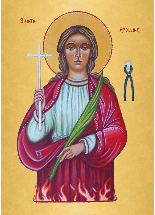 Icon of St. Apollonia