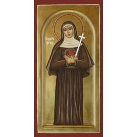 Icon of Saint Rita of Cascia