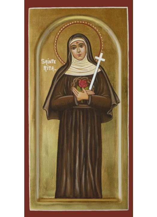 Icône de Sainte Rita de Cascia