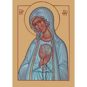 Icon of Our Lady of Fatima