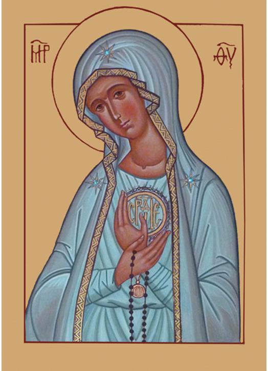 Icono de la Nuestra Señora de Fátima