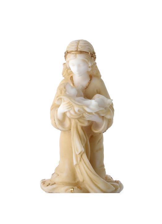 Vierge en prière - 10,5 cm (Vue du facee)