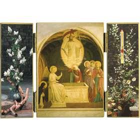LaResurrección y las Marías en el Sepulcro