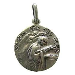 Medalla de Santa Rita, 18 mm
