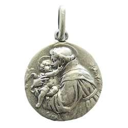 Médaille religieuse de saint Antoine de Padoue, 18 mm