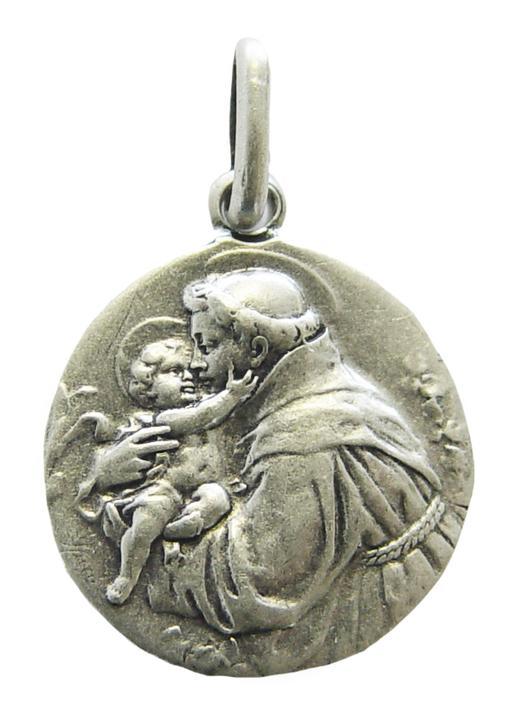 Medalla de San Antonio de Padua, 18 mm