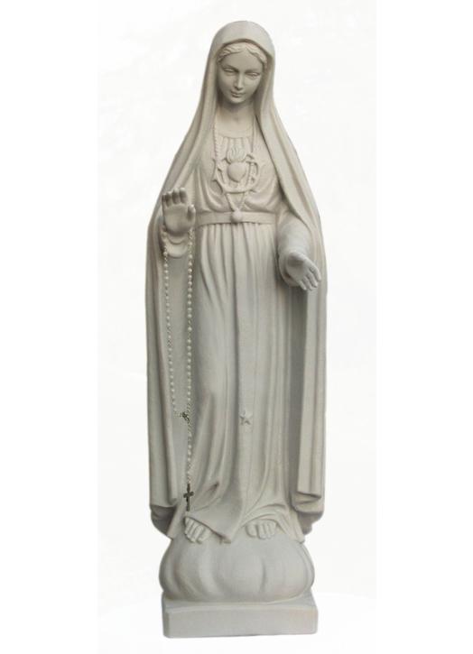 Estatua del Nuestra Señora de Fátima, 64 cm (Vue de face)