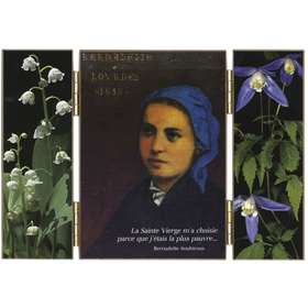Retrato de Sta. Bernadette